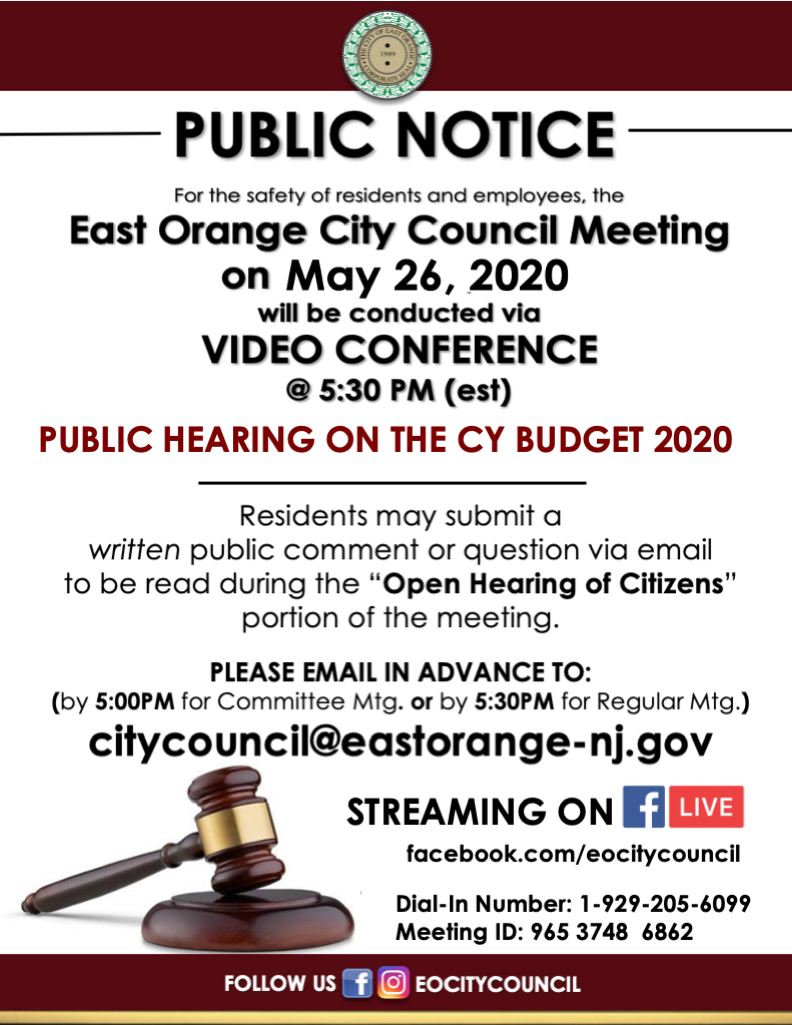 virtual council meeting 5-26-2020