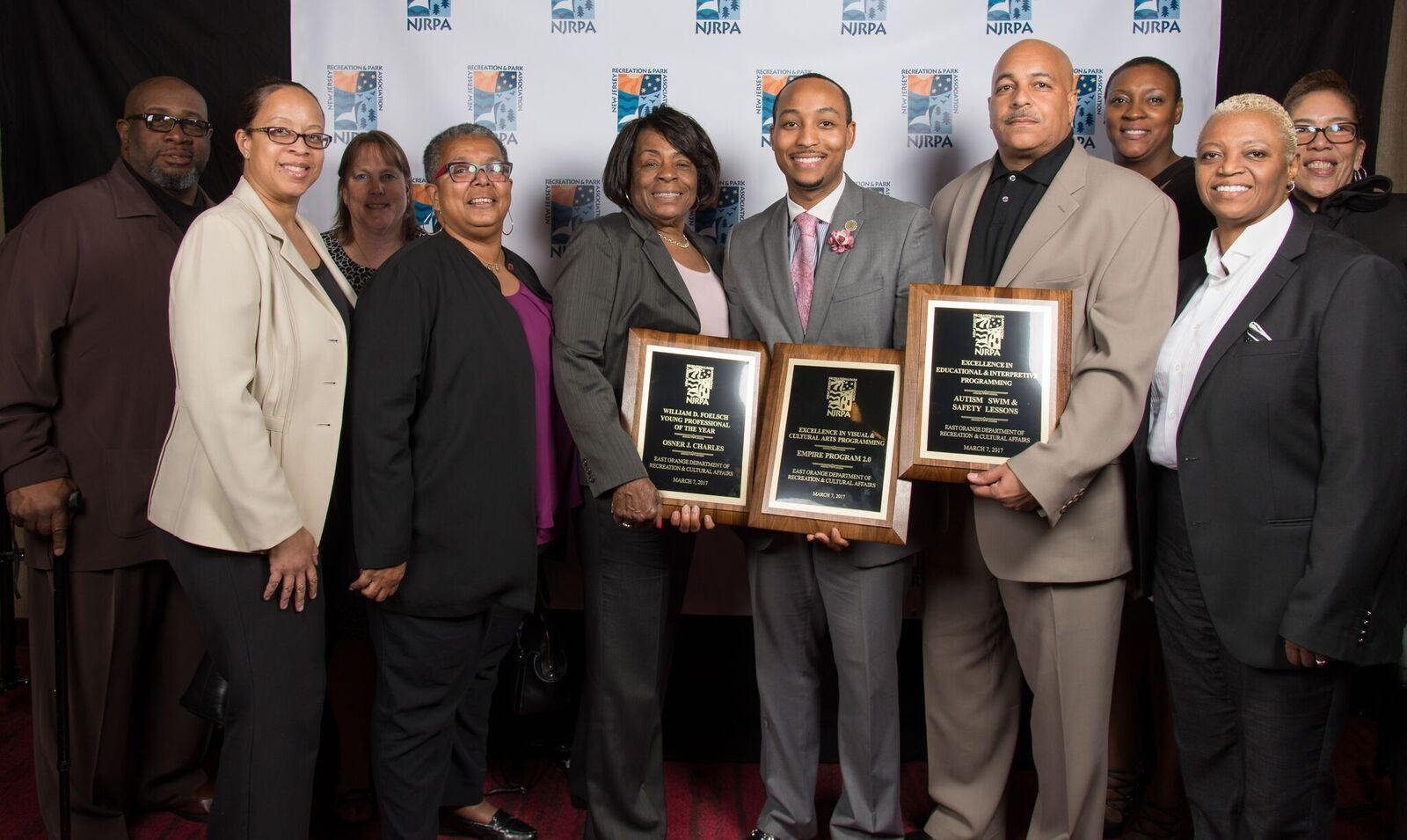 Recreation Dept Receives 3 Top NJRPA Awards